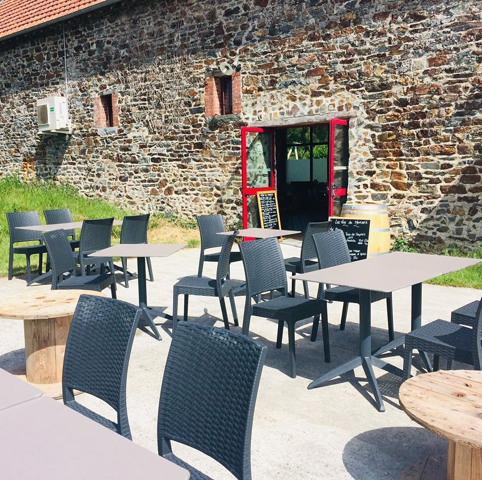 Restaurant Les Tables - Terrasse